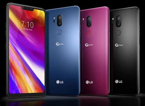 Harga Lg G7 Thinq berbekal performa tertinggi lg g7 thinq siap hadir di