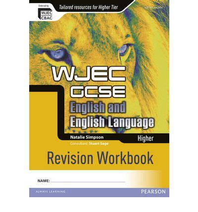 libro wjec gcse maths higher wjec gcse english and english language higher revision workbook natalie simpson 9780435027568