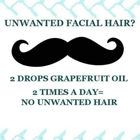 oils that retard unwanted hair grapefruit oil for unwanted facial hair essential oils
