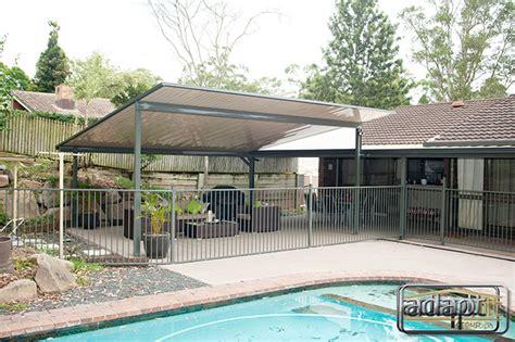 Skillion Roof Patio by Skillion Patios By The Pool Adaptit Adaptit