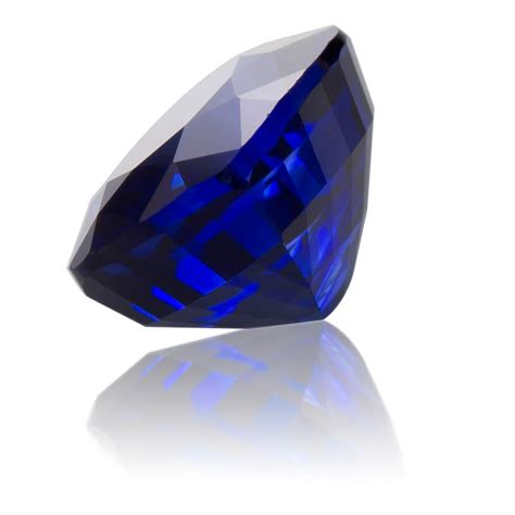 Royal Blue Ceylon Sapphire ceylon royal blue sapphire cushion 2 33ct king gems