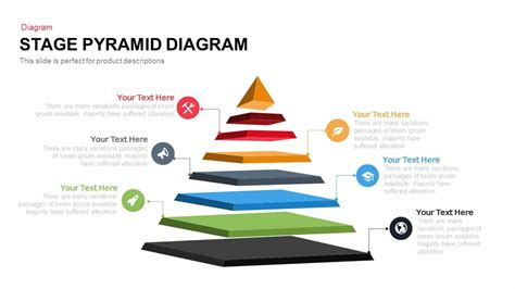 pyramid powerpoint template stage pyramid diagram powerpoint and keynote template