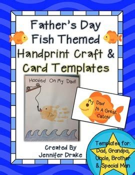 s day card template fishes s day handprint and card templates by