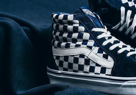Vans Slip On Indigo Checkerboard vans japan indigo checker pack sneakernews