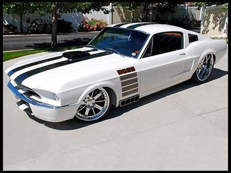 1967 ford mustang resto mod 700 hp 6 speed 121 000