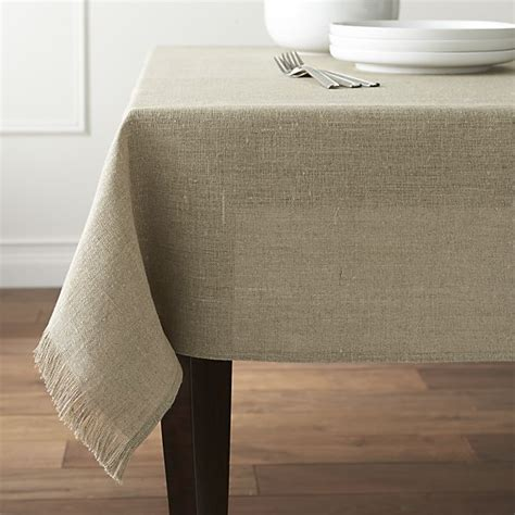 Linen Table Cloth by Beckett Tablecloth Crate And Barrel