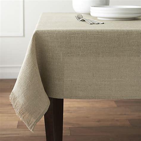table cloth beckett tablecloth crate and barrel