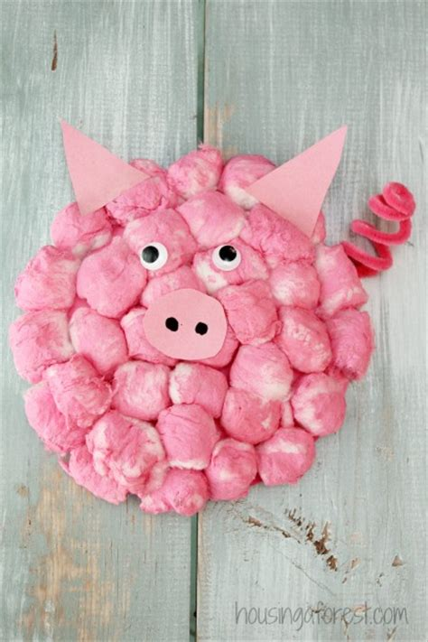 Paper Plate Pig Craft - we simple paper plate crafts the had so much