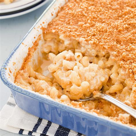 Cheese Bags America S Test Kitchen by Reduced Baked Macaroni And Cheese Cook S Country