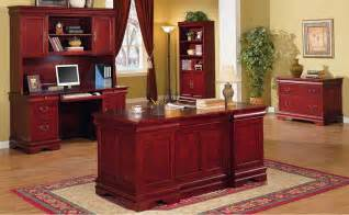 Cherry Home Office Furniture Classic Office Furniture For Home Office