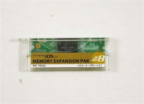 Memory Nintendo Ds Nintendo Ds Memory Expansion Pak