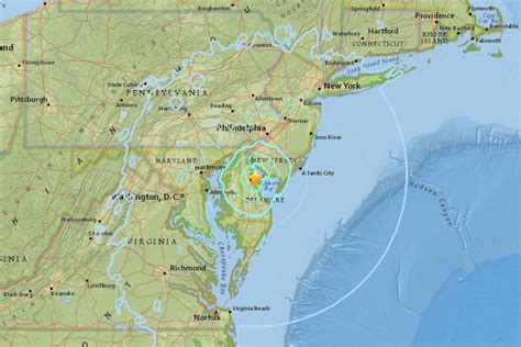 earthquake nj 4 1 magnitude delaware earthquake shakes philly south