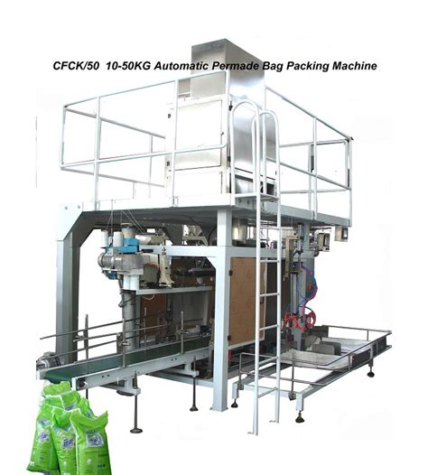 Packing Kayu 10 Kg 10 50kg automatic bag feeding and packaging machine gfck