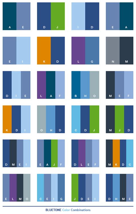 color combinations with blue blue tone color schemes color combinations color