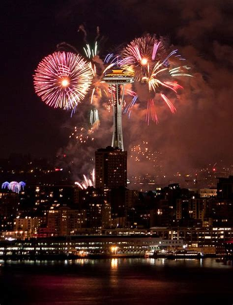 new year celebration in seattle 4th of july seattle space needle celebrate