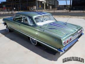 Mario Upholstery 1963 Chevrolet Impala Ss Convertible Lowrider Magazine