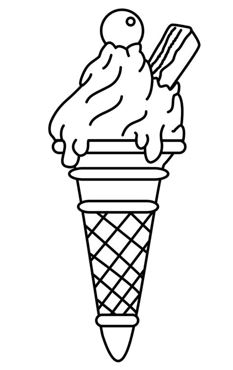 ice cream dish coloring page ice cream coloring pages coloringsuite com