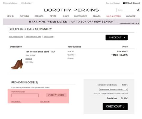 discount vouchers dorothy perkins dorothy perkins ireland voucher free delivery voucher
