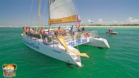 paradise adventures catamaran paradise adventures catamaran panama city beach all