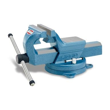 rigid bench vise f series vises ridgid professional tools