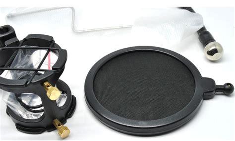 Sale Pop Filter Stand Mikrofon Bop Dan Smartphone Holder Universal stand mic smartphone berkaraoke lebih berkualitas bak