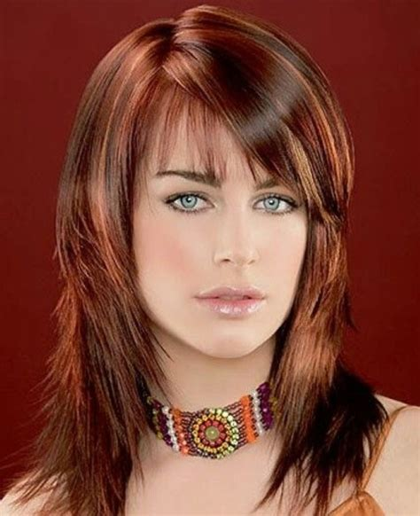 haircuts with color and highlights 30 auburn hair color styles