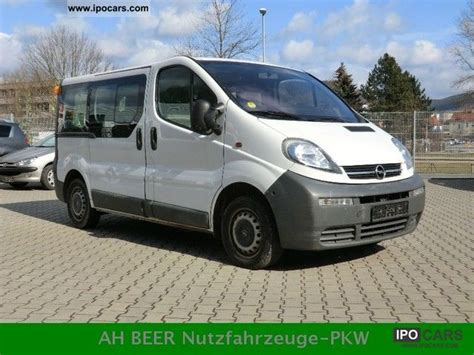 opel vivaro 2005 2005 opel vivaro 1 9 cdti l1h1 9 seat air conditioning