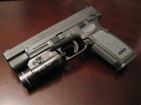 springfield xd tactical light the larger pistol in our xd family 45 acp also has tfo