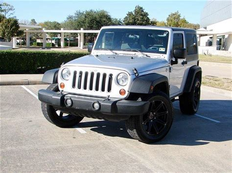 Jeep Wrangler For Sale Houston Tx 2009 Jeep Wrangler For Sale In Houston Tx Carsforsale
