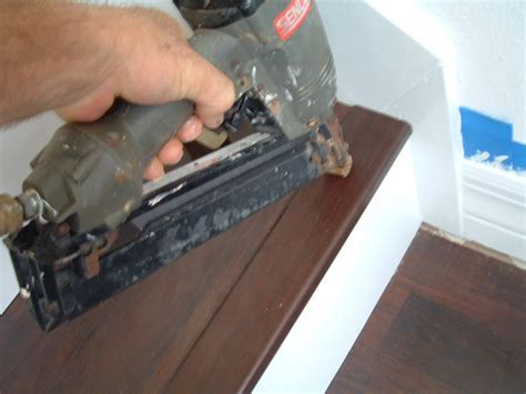 Installing Stair Nose for DIY stair installation, Tampa