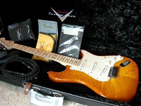 Fender New Pajero 2015 Up Custom Fender 2015 fender custom shop custom deluxe quilt honeyburst guitars rock nz s guitar shop