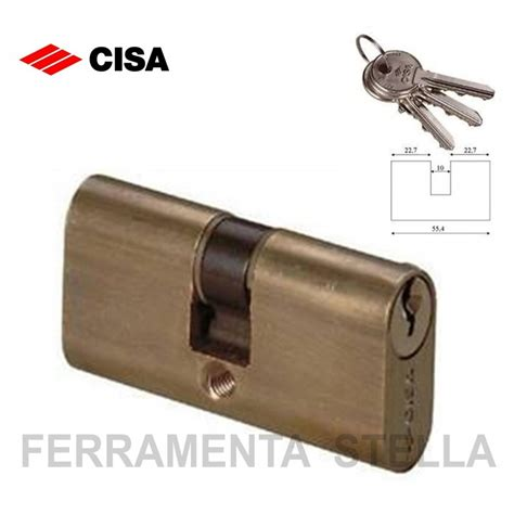 serrature x porte cilindro ovale cisa