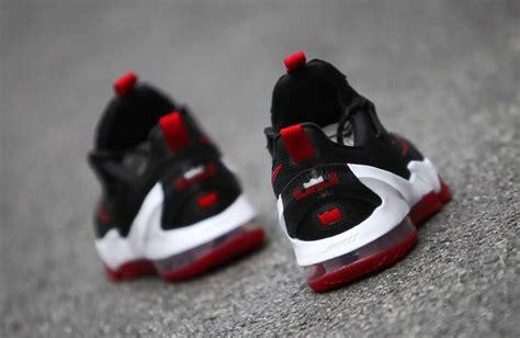 Lebron 13 Low Black White nike lebron 13 low bred black white sneaker bar detroit