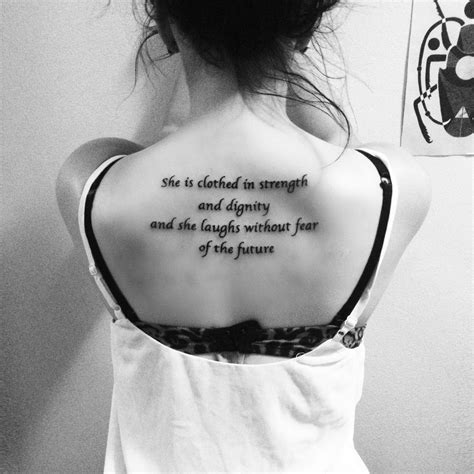 she is clothed in strength and dignity tattoo my she is clothed in strength and dignity and she