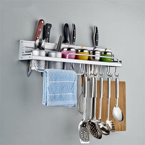 unique kitchen utensils 40 50 60cm unique kitchen utensils aluminum storage rack