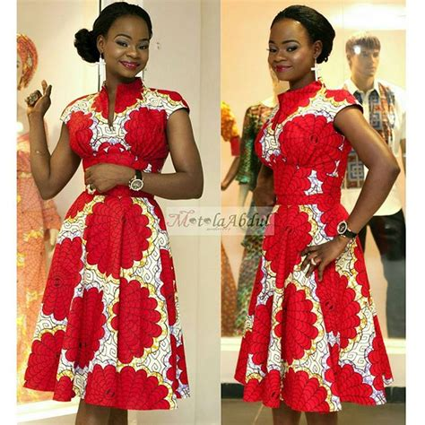 lovely and recent ankara styles bellanaija olajumoke is taking her first flight today see the model