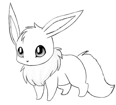 eevee coloring pages to print eevee cute pokemon coloring pages images pokemon images