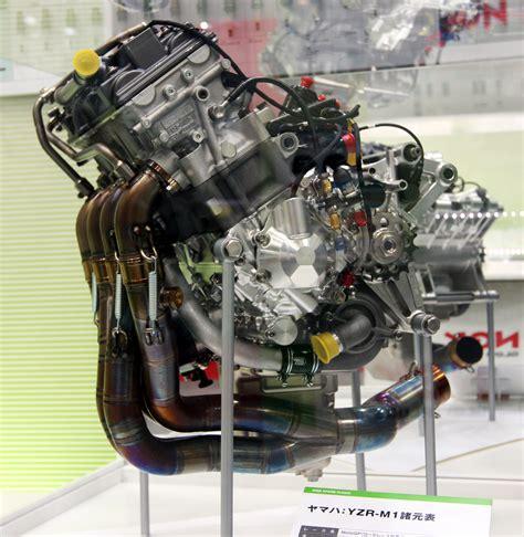 Mesin Motor 4 Silinder berkas yamaha yzr m1 in line 4 cylinder engine 2009 tokyo
