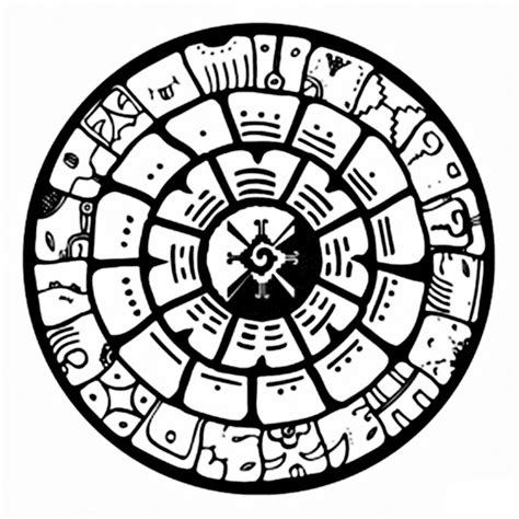 Free Mayan Art Coloring Pages Mayan Coloring Pages