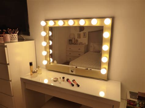Light Bulb Mirror Vanity by Makeup Mirror With Lights Vanity Mirror By