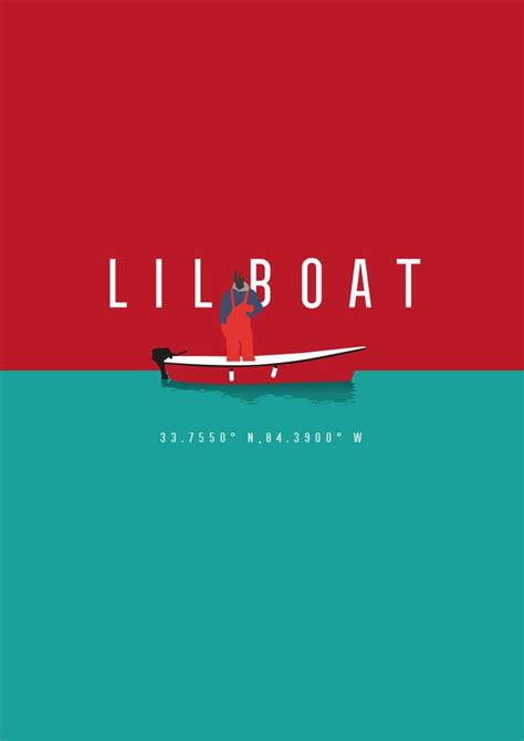 lil yachty lil boat poster poster about lil yachty s mixtape quot lil boat quot illustration