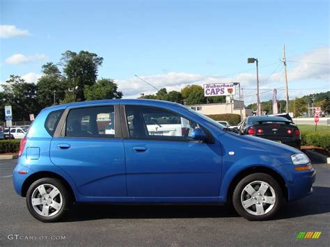 2006 bright blue chevrolet aveo ls hatchback 19217982 photo 4 gtcarlot car color galleries