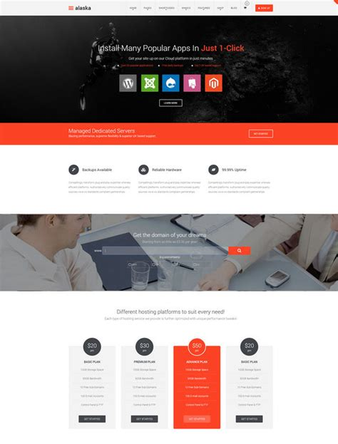 whmcs hosting templates 25 best hosting themes with whmcs tempodust