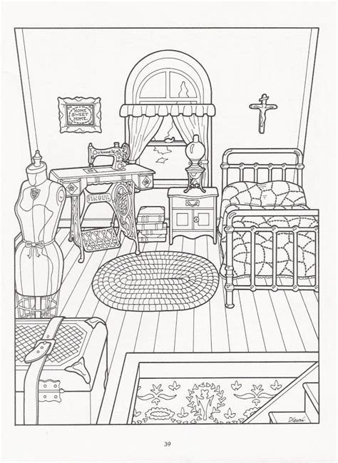 coloring pages for adults victorian artwork by daniel lewis the victorian house coloring book