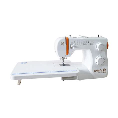 Mesin Jahit Fortable Butterfly jual butterfly jh 5832a xt mesin jahit portable