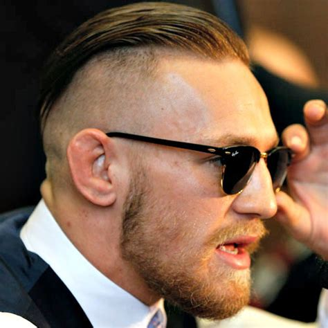 The Conor McGregor Haircut   Men's Hairstyles   Haircuts 2018