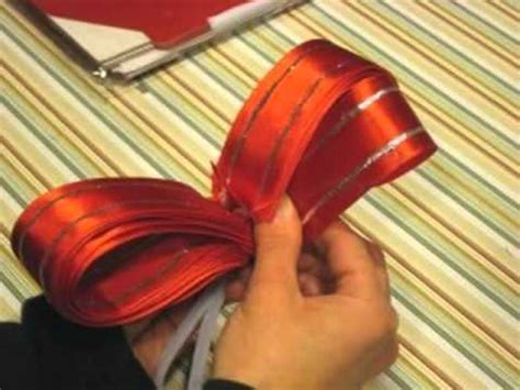 youtube how to make a silver xmas bow discover how easy it is to make your own bows