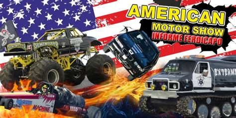 show me monster trucks monster truck american motor show youtube