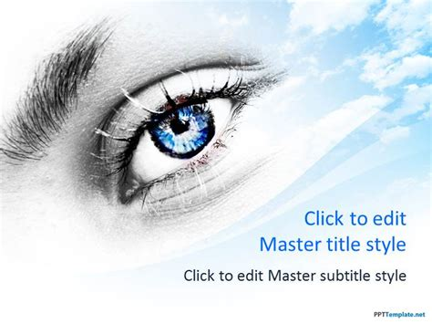 powerpoint templates free eye free eye ppt template