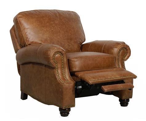 saddle leather recliner barcalounger longhorn ll vintage reserve leather recliner